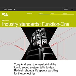 Industry standards: Funktion-One