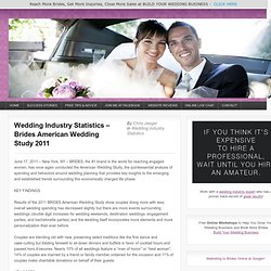 Wedding Industry Statistics – Brides American Wedding Study 2011