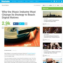 Why the Music Industry Must Change Its Strategy to Reach Digital Natives