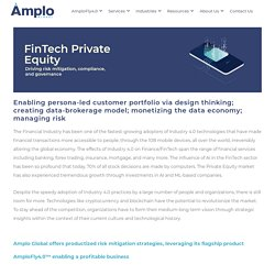 Industry 4.0 Technologies for Fintech Private Equity - Amplo Global Inc.