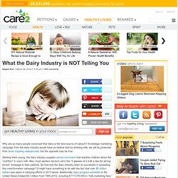 What the Dairy Industry is NOT Telling You