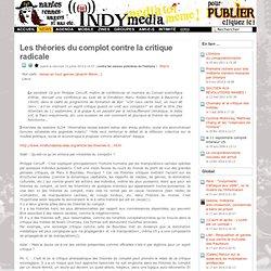 Les théories du complot contre la critique radicale - Indymedia Nantes (2010)