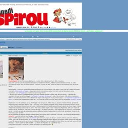 Charles DEGOTTE : Les auteurs connus et moins connus du beau journal de Spirou