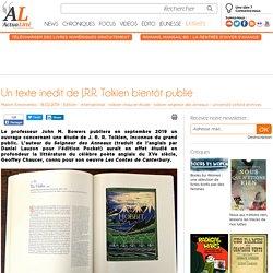 Un texte inédit de J.R.R. Tolkien bientôt publié