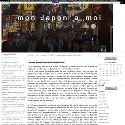 L'inédite influence du Japon sur la France - Mon Japon à moi