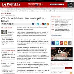 COR - Etude inédite sur le stress des policiers français