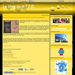 Des sources inédites pour les Français de l'étranger : les Archives Diplomatiques