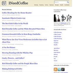 INeedCoffee - Monthly Caffeination Information