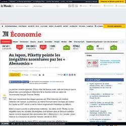 Au Japon, Piketty pointe les inégalités accentuées par les « Abenomics »
