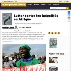 Lutter contre les inégalités en Afrique