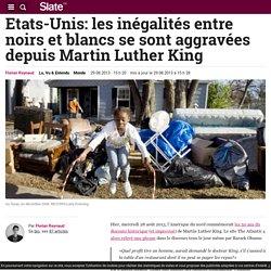 Etats-Unis: les inégalités entre noirs et blancs se sont aggravées depuis Martin Luther King