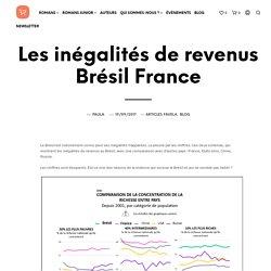 Les inégalités de revenus Brésil France - Editions Anacaona. Découvrez les livres du Brésil
