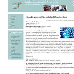 Éducation aux médias et inégalités éducatives