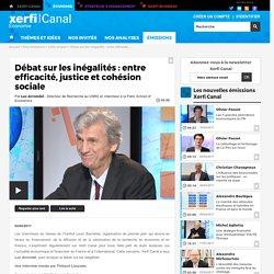 Luc Arrondel, Institut Louis Bachelier - Débat sur les inégalités : entre efficacité, justice et cohésion sociale