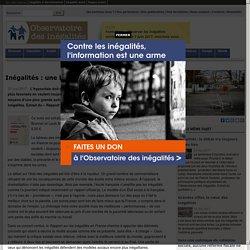 Inégalités: une hypocrisie française
