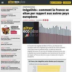Inégalités : comment la France se situe par rapport aux autres pays européens