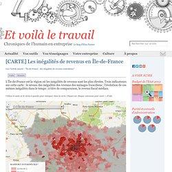 [CARTE] Les inégalités de revenus en Île-de-France