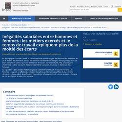 Inégalités salariales entre hommes et femmes: les métiers exercés et le temps de travail expliquent plus de la moitié des écarts - Insee Analyses Bourgogne-Franche-Comté - 8