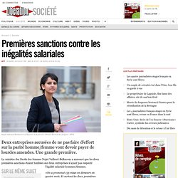 Premières sanctions contre les inégalités salariales
