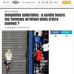 Inégalités salariales: à quelle heure les femmes arrêtent-elles d'être payées?
