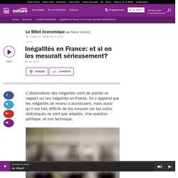Inégalités en France: et si on les mesurait sérieusement?