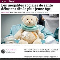 Les inégalités sociales de santé débutent dès le plus jeune âge