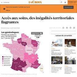 Accès aux soins, des inégalités territoriales flagrantes - La Croix