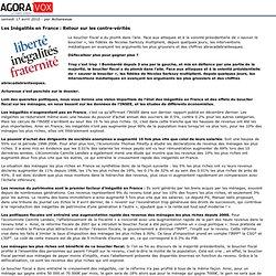 Les In galit s en France: Retour sur les contre-v rit s - Agora