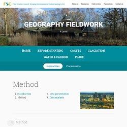 Inequalities - FSC Geography Fieldwork