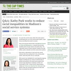Q&A: Kathy Park works to reduce racial inequalities in Madison's social service systems