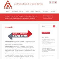 Inequality – ACOSS