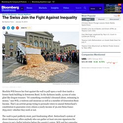 Inequality Fight: Swiss Will Vote on Minimum Income - Businessweek
