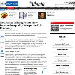 How Income Inequality Warps the U.S. Economy