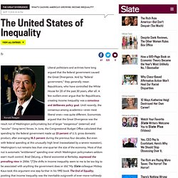 Can We Blame Income Inequality on Republicans? (5) - By Timothy Noah