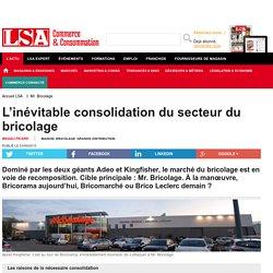 L'inévitable consolidation du secteur du... - Bricolage, jardinage