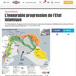 L'inexorable progression del'Etat islamique