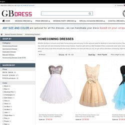 Amazing Tight Homecoming Dresses On GBDRESS