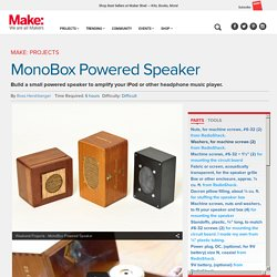 Build an Inexpensive Powered Speaker