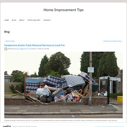 Inexpensive Austin Trash Removal Services to Look For