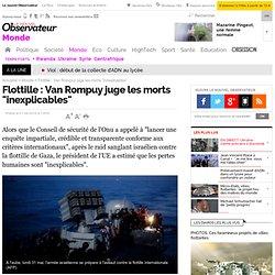 Flottille : l'Onu réclame une enquête et la libération des civil