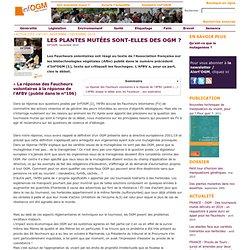 INF OGM - DEC 2010 - Les plantes mutées sont-elles des OGM ?