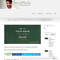 ¿Qué es Pecha Kucha? El método infalible para presentaciones eficaces