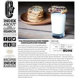 The Infamous Jacques Torres Chocolate Chip Cookies - StumbleUpon