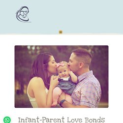 training child's height infant-parent