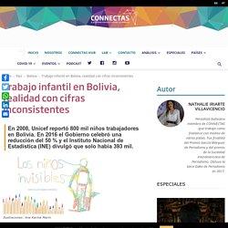 Trabajo infantil en Bolivia, realidad con cifras inconsistentes