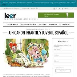 Un canon infantil y juvenil español