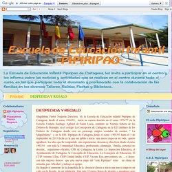 Escuela Infantil Pipiripao: DESPEDIDA Y REGALO