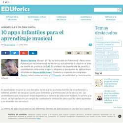 10 apps infantiles para el aprendizaje musical