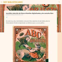 Increíble colección de libros infantiles digitalizados y de consulta libre