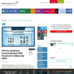 PPE for Infection Control Market Will Touch $17.1 Billion By 2026 -